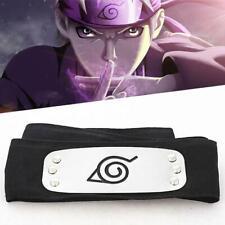 Naruto Uchiha Itachi Black Leaf Village Konoha Ninja Headband Cosplay Anime Hot