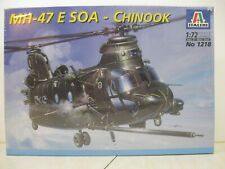 Italeri 1/72 Mh-47E Soa Chinook Helicopter #1218 factory sealed