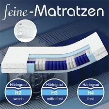 Matratze Taschenfederkern Köln 90x200 100x200 140x200 180x200 7-Zonen H2 H3 H4