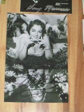 Actress JOAN WELDON Signed 4x6 PRETTY Photo AUTOGRAPH