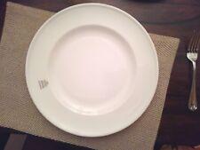 "6 NEW Plates Churchill Professional Bone China White Art de Cuisine Charger 13"""