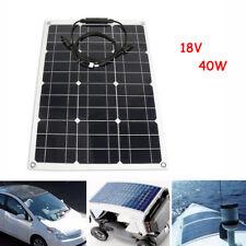 40W 18V Panneau Solaire Mono Semi Flexible Pour voiture Bateau Camion