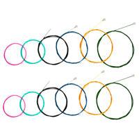 2 Set Rainbow Colorful 6 String Guitar Strings Nylon Classical Guitar String
