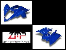 NEW YAMAHA RAPTOR 700 DARK BLUE PLASTIC FRONT AND REAR FENDER SET PLASTICS