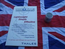Thales Miltrak Promotional Plastic Sign & Ceramic Mug