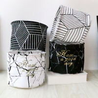 Collapsible Storage Basket Sundries Box Closet Container Foldable Boxes