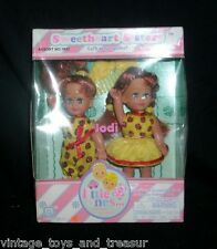 VINTAGE KID KORE SWEETHEART TWIN SISTERS JODI LITTLE ONES MATCHING DOLL IN BOX