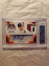 2015 USA Baseball Stars and Stripes Jersey Signatures Prime #56 Kris Bryant/25