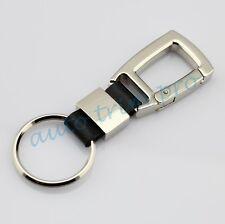Auto Truck Parts Trim Fashion Keyfob Gift Car Key Holder Chain Ring Steel Style