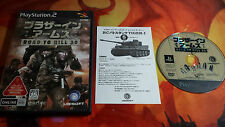 BROTHERS IN ARMS: ROAD TO HILL 30 PS2 NTSC JAP JPN JP ENVÍO 24/48H