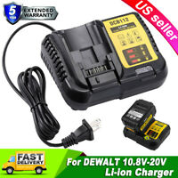 DCB112 Charger for Dewalt  20V Li-ion XR Battery DCB200 DCB204 12V DCB120 DCB127
