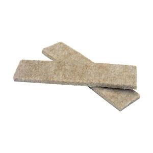 "Rok 52 Pack Heavy Duty 1x4"" Felt Pad Strip Sliders for Legs Chair Sofa Furniture"