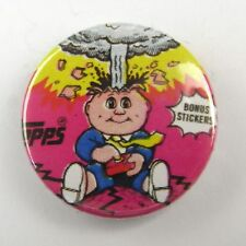 Garbage Pail Kids Adam Bomb - Button Badge - 25mm 1 inch