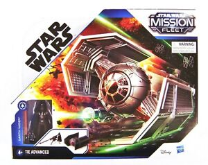 "Star Wars Stellar Class Darth Vader TIE Advanced With 2.5"" Figure"