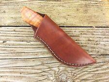 "Custom Leather Knife Sheath.  Small 5 1/2"" x 2"" w/opening 1 3/8""  A3-A"