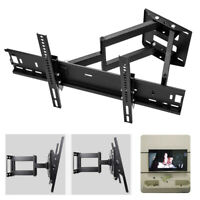 "Full Motion TV Wall Mount 26 32 40 42 50 54 56 60 65 70 75"" For Sony Lg Samsung"
