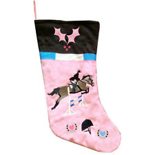 Show Jumping Boot Christmas Stocking