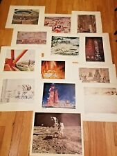 "NASA ""Eyewitness To Space"" 12 Color Prints 16"" x 20"" Picture Set No 3 + Bonus"