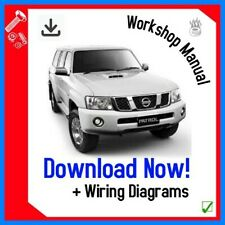 Workshop Repair Manual For Nissan PATROL Y61 SERIES 1998 - 2009 DOWNLOAD