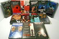 Lot of 13 Horror VHS Movie Tapes The Relic Salem's Lot Primal Rage House of Wax