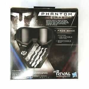 Nerf Rival Phantom Corps Face Mask Black C1697USA