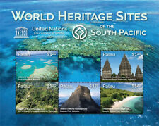 Palau 2015 - World Heritage Sites Of The South Pacific - Sheet of Five MNH