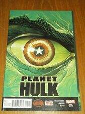 PLANET HULK #5 MARVEL COMICS SECRET WARS