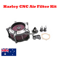CNC aluminum Air Filter Cleaner Intake Harley Sportster XL 883 1200 48 2004-2015