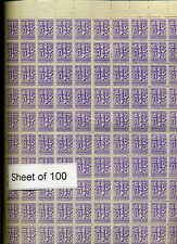 Barcelona Spain 1941 Huge Lot Telegraph Sheets & More Edifil #13-16 (Lot #419)