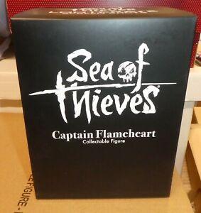 Xbox Sea of Thieves Captain Flameheart Figure Vinyl Loot Crate video Microsoft