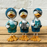 Standing Pirate Navy Fisherman Themed Duck Bird Home Decorative Ornaments Gift