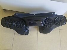 "Harley Davidson Roadking Flh Fairing 5 1/4""  Stereo System Bluetooth"