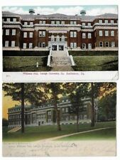 2 Early Postcards Lehigh University,Bethlehem: Williams Hall. Made in Germany