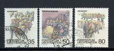 Liechtenstein 1989 SG # 962-4 autunno doganale utilizzato Set #A 3268