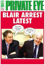 PRIVATE EYE 1177 -  2 - 15 Feb 2007 - Tony Blair John Reid - BLAIR ARREST LATEST