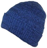 Best Winter Hats 3M 40 Gram Thinsulate Insulated Beanie - Blue/Navy