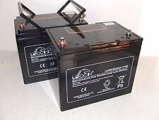 2 x 12V 85ah replaces 75ah & 70ah Mobility Scooter, Power Chair Batteries