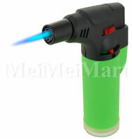 "Jumbo 4"" Single Jet Flame Torch Gun Lighter Refillable Lockable Windproof-9452R"