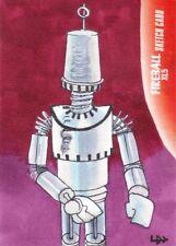 Gerry Anderson's Fireball XL5 Rare Louise Draper Sketch Card c