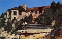 Grand Canyon National Park Arizona~Lodge~1950s Postcard