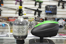 Dye Rotor LTR Paintball Loader Black/Lime+ Empire 48ci/4500psi Carbon Fiber Tank