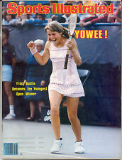 Sports Illustrated 1979 TRACY AUSTIN Tennis US OPEN Flushing Meadow NO LABEL