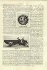 1920 Hallford Tipping Lorry Renault Reducing Gear