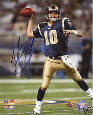 MARC BULGER signed ST. LOUIS RAMS 8x10 NFL photo - GTSM