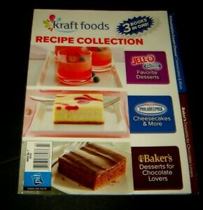 Kraft Foods Recipe Collection 3 Books in One