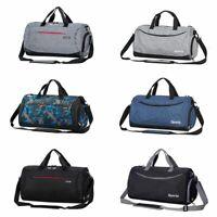 Sport Gym Duffel Shoulder Bag Backpack Travel Handbag Luggage +Shoes Compartment