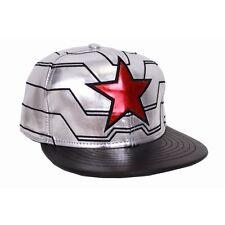 Winter Soldier Star Captain America Marvel Civil War Cap Baseball Mütze Snapback