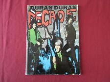 Duran Duran - Decade . Songbook Notenbuch Piano Vocal Guitar PVG