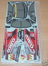 Tamiya 58435 Cusco Dunlop Subaru Impreza/TT01, 9495594/19495594 calcomanías/Pegatinas