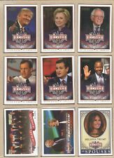 Decision 2016 Gold Foil PROMO Set P1-P18 - Clinton, Trump, Sanders